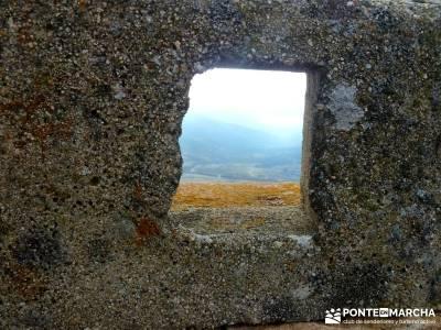 Fortines y Trincheras: Río Cofio; puente del pilar cerezos en flor castillo de coca fedme